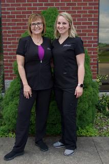 Osage Melissa and Heidi